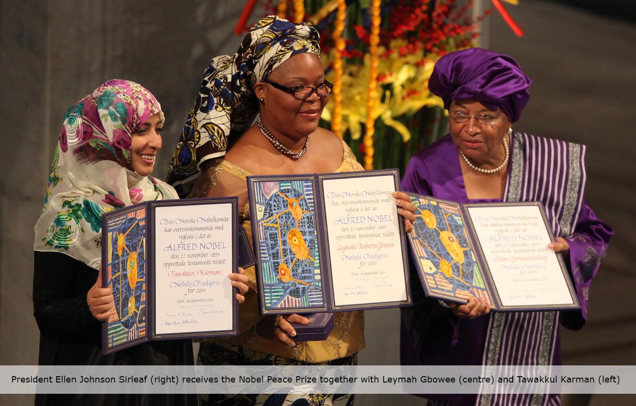 The Success Life Story of Liberia's President Ellen Johnson Sirleaf