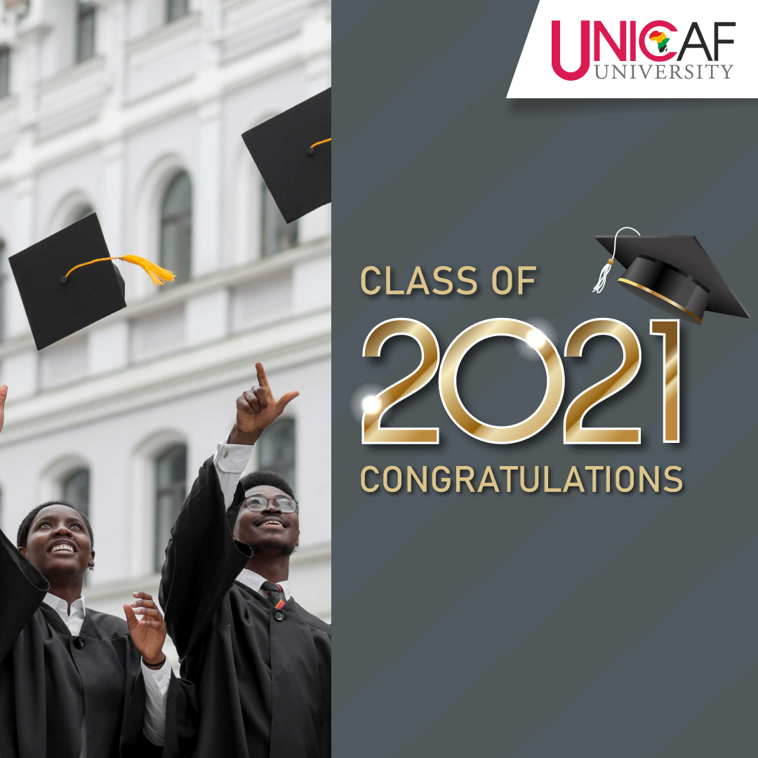 Celebrating the Class of 2021 Graduation Ceremony   Unicaf University in Malawi