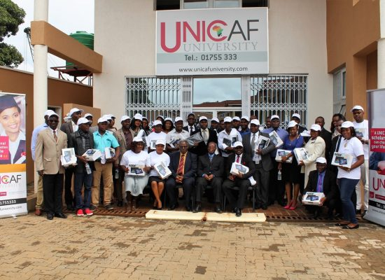 Unicaf University Newly Registered Students Receive Free Windows 10 Tablets
