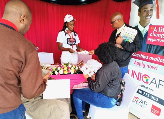 UNICAF UNIVERSITY KENYA AT THE CAREER FAIR IN NAIROBI