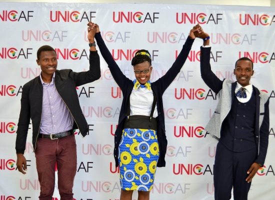 THE WINNERS OF THE FIRST UNICAF UNIVERSITY ESSAY COMPETITION IN KENYA ARE ANNOUNCED