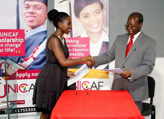 Unicaf University Sponsors NAMISA Media Awards