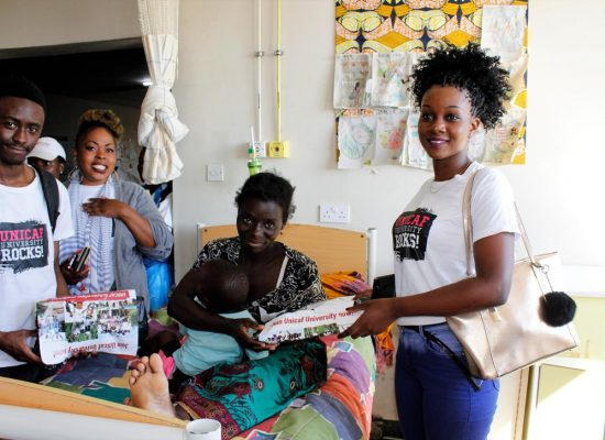 Unicaf University Malawi Students and Staff Celebrate World Health Day with Hospital Donations