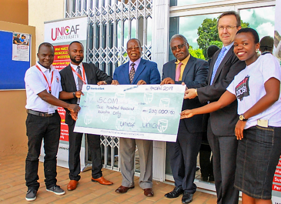 Unicaf University Malawi Sponsors SCOM