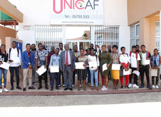 Unicaf University Malawi continues to offer free computer training to secondary school graduates