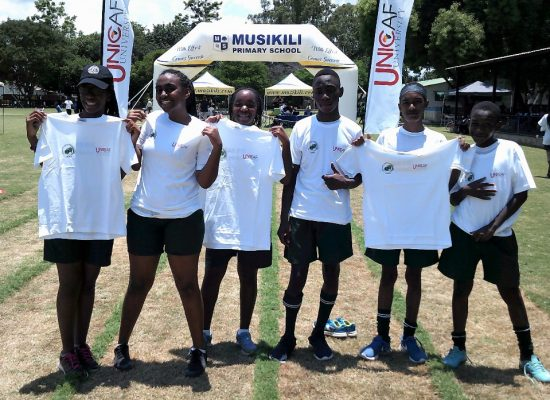 Unicaf University Zambia Sponsors Student Athletes in Cross Country Race